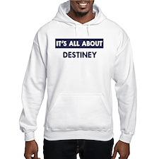 All about DESTINEY Hoodie Sweatshirt
