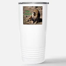 Resting lion Travel Mug