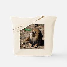 Resting lion Tote Bag