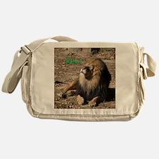 Resting lion Messenger Bag