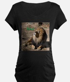 Resting lion Maternity T-Shirt