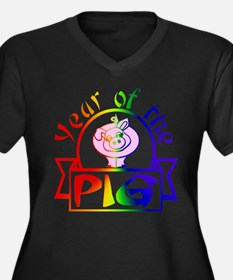 GLBT / LGBT Year of the PIG - Women's Plus Size V