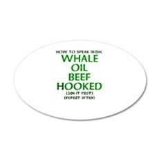 How to Speak Irish: Whale Oil Beef Hooked - Say it