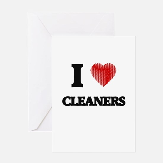 cleaners Greeting Cards