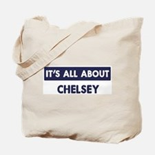 All about CHELSEY Tote Bag