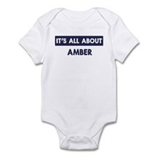 All about AMBER Infant Bodysuit