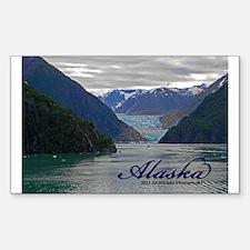 Alaskan Glacier Sticker (rectangle)
