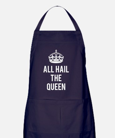 Cute Funny mothers day quotes Apron (dark)