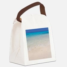 Cute Indian ocean Canvas Lunch Bag