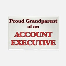 Proud Grandparent of a Account Executive Magnets