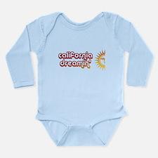 Cool Vintage 70s Long Sleeve Infant Bodysuit