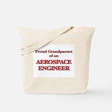 Proud Grandparent of a Aerospace Engineer Tote Bag