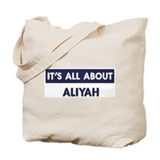 All about ALIYAH Tote Bag
