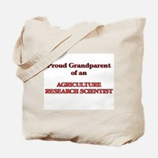 Proud Grandparent of a Agriculture Resear Tote Bag