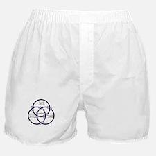 Trinity - Borromean Rings Boxer Shorts