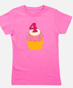 Cute 4 year old Girl's Tee