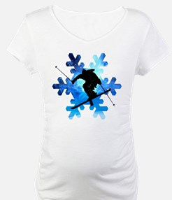 Winter Landscape Freestyle skier Shirt