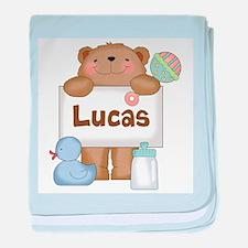 Lucas's baby blanket