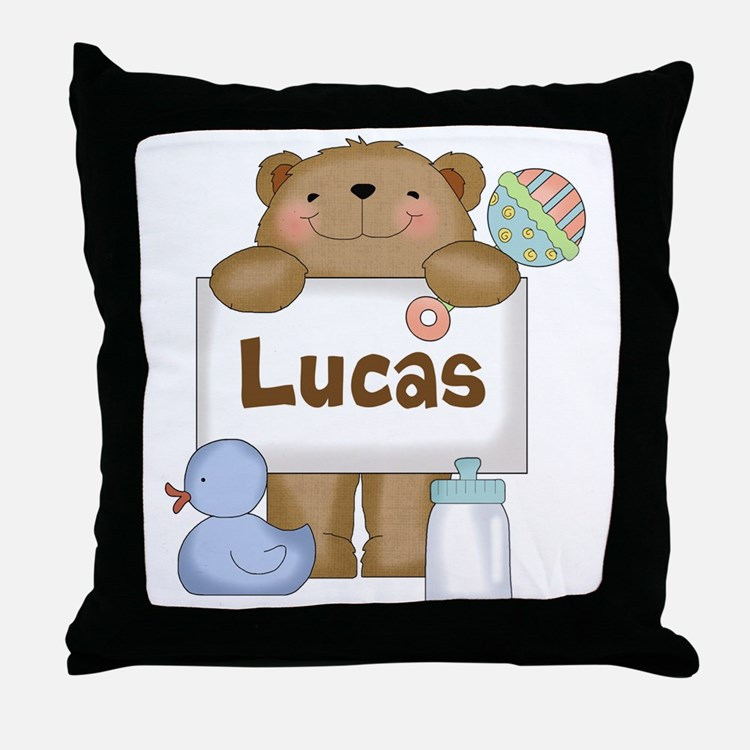 Lucas's Throw Pillow