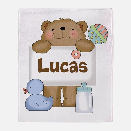 Lucas's Throw Blanket