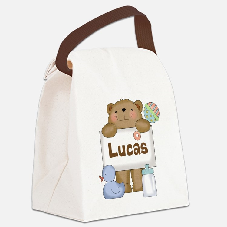 Lucas's Canvas Lunch Bag