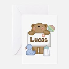Lucas's Greeting Cards (Pk of 20)