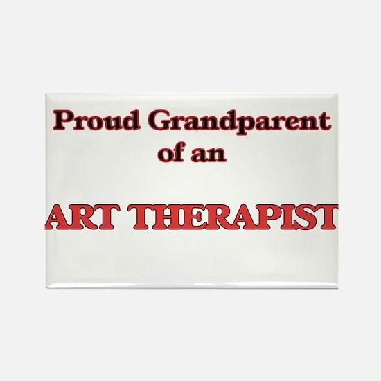 Proud Grandparent of a Art Therapist Magnets