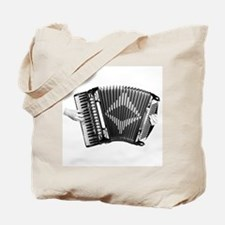 Cute Piano accordion Tote Bag