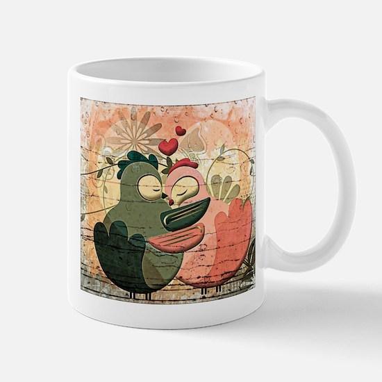 Love Birds illustration Mugs