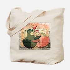 Love Birds illustration Tote Bag