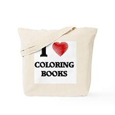 Coloring books Tote Bag