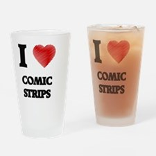 comic strip Drinking Glass