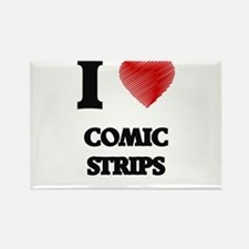 comic strip Magnets