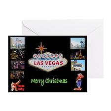 Las Vegas Strip Merry Christmas Cards 10