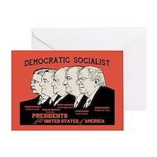 Democratic Socialist Presidents Greeting Card