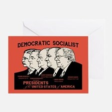 Democratic Socialist Presidents Greeting Card