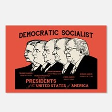 Democratic Socialist Pres Postcards (Package of 8)