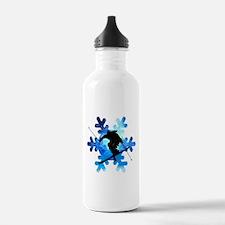 Winter Landscape Frees Water Bottle