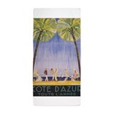 France vintage Beach Towels