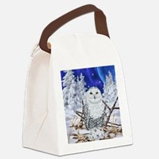 Cute Habitat Canvas Lunch Bag