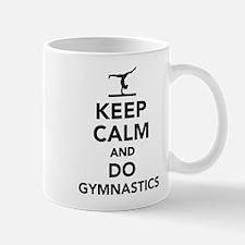 Keep calm and do gymnastics Mug