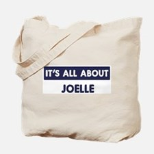 All about JOELLE Tote Bag