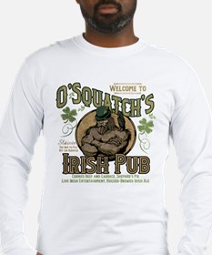 O'Squatch's Irish Pub Long Sleeve T-Shirt