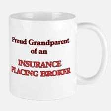 Proud Grandparent of a Insurance Placing Brok Mugs