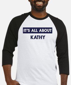 All about KATHY Baseball Jersey