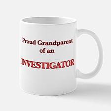 Proud Grandparent of a Investigator Mugs