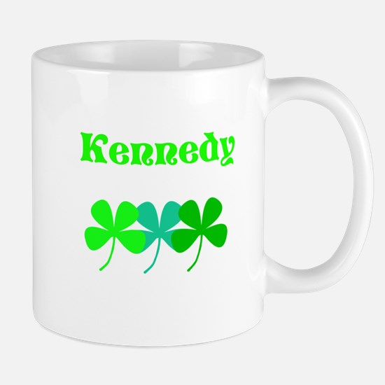Kennedy (Custom Surname) St. Patricks Day Shamrock