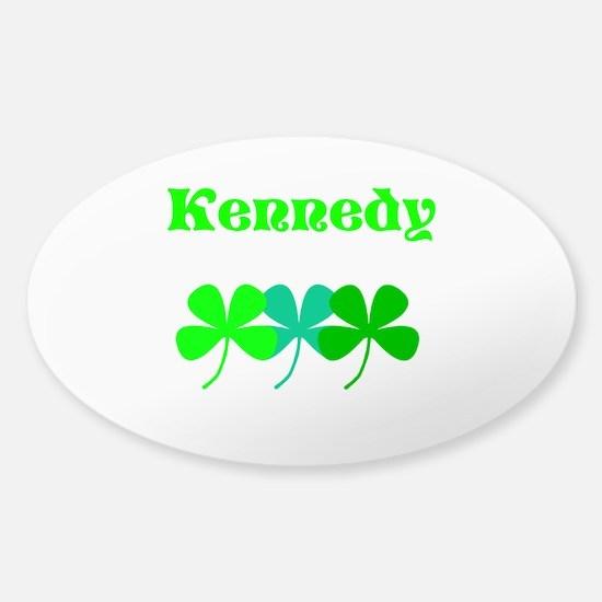Kennedy (custom Surname) St. Patricks Day Decal
