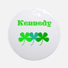 Kennedy (custom Surname) St. Round Ornament