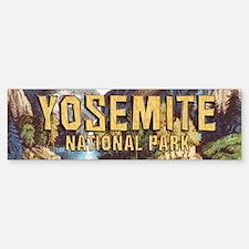 Yosemite Americasbesthistory.com Bumper Bumper Sticker